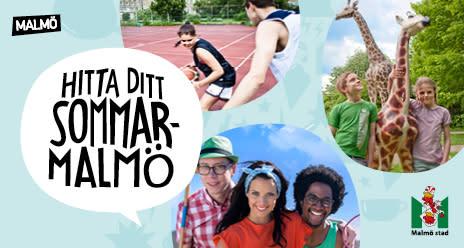 Stanna hemma i sommar! - I Malmö är det gratis att ha kul
