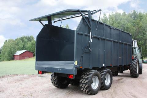 Trejon möter upp efterfrågan på stora vagnar med en 24/42 m3 vagn från Multicargo