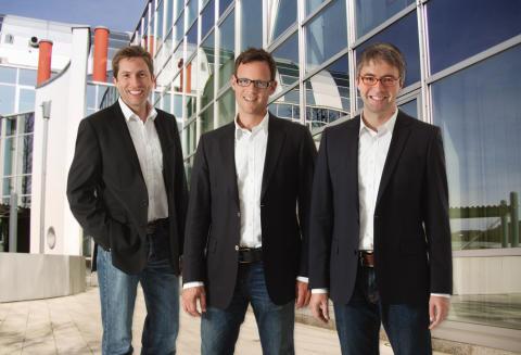Gründerteam der united-domains AG