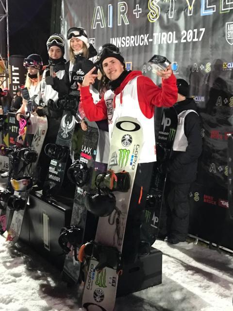 Sven Thorgren på tredjeplats i Air + Style