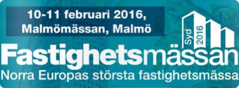 Besök oss på Fastighetsmässan Öresund 10-11 februari