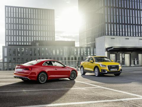 Audi A5 och Audi Q2