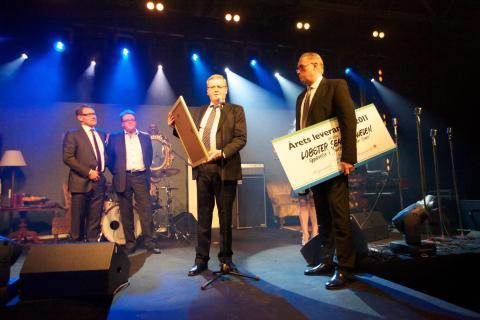 Bergendahls Food utser Lobster/Sjöboden till årets leverantör