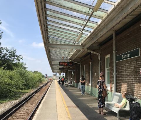 Barnham station