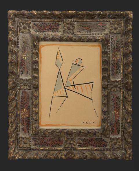 Grand Antiques, Galleri Claes Moser, Marino Marini.