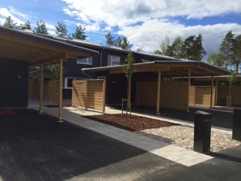 Nu flyttar de första familjerna in i den nya stadsdelen i Folkets Park, Linköping