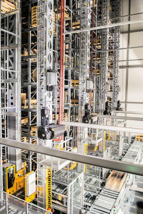 Jungheinrich utrustar nytt distributionscenter för IKEA i Ryssland