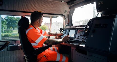 Ny simulator för godståg