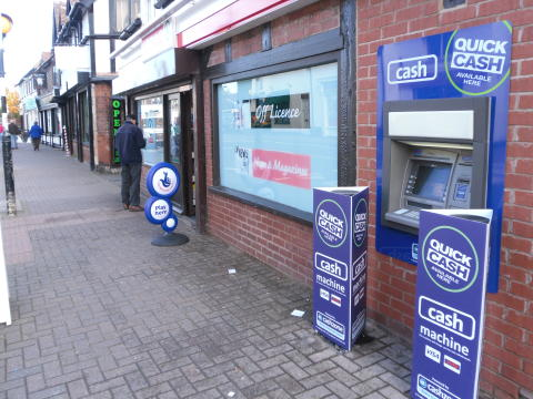 Prompt action by Cashzone supports swift re-opening of Polesworth Spar following futile ram-raid attempt