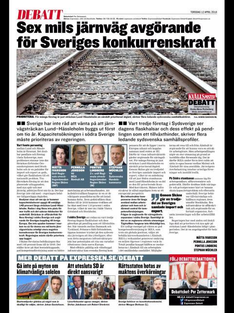 Snabba på med Lund-Hässleholm