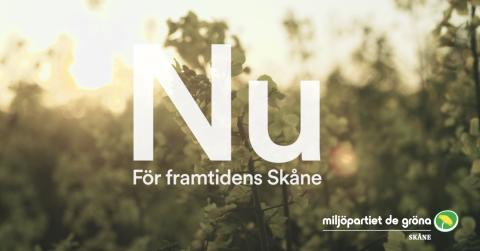Per Bolund pratar om klimathotet på MP Skånes inspirationsdag