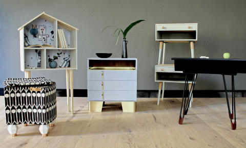Myrorna och Prettypegs i samarbete med kreativa designers för att få svenskarna att återanvända mer.