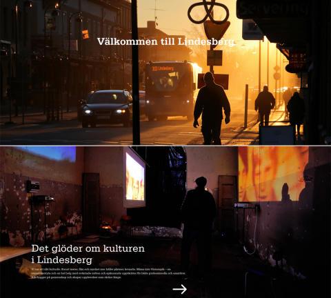 Ny webbplats ska locka talanger till Lindesberg