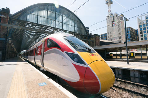 LNER Azuma trains launch on iconic east coast route