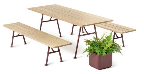 Alnön furniture group, design Thomas Eriksson Architects