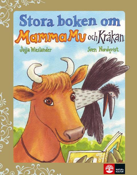 Stora boken om Mamma Mu och Kråkan Grammisnominerad
