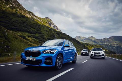 BMW X1 xDrive25e, BMW X3 xDrive30e og BMW X5 xDrive45e