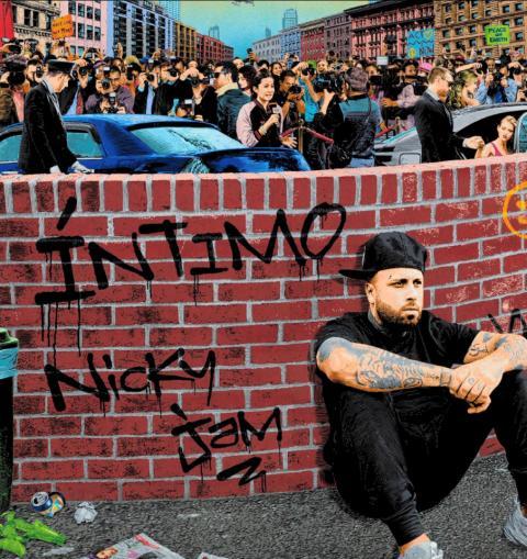 Nicky Jam - Albumomslag - ÍNTIMO