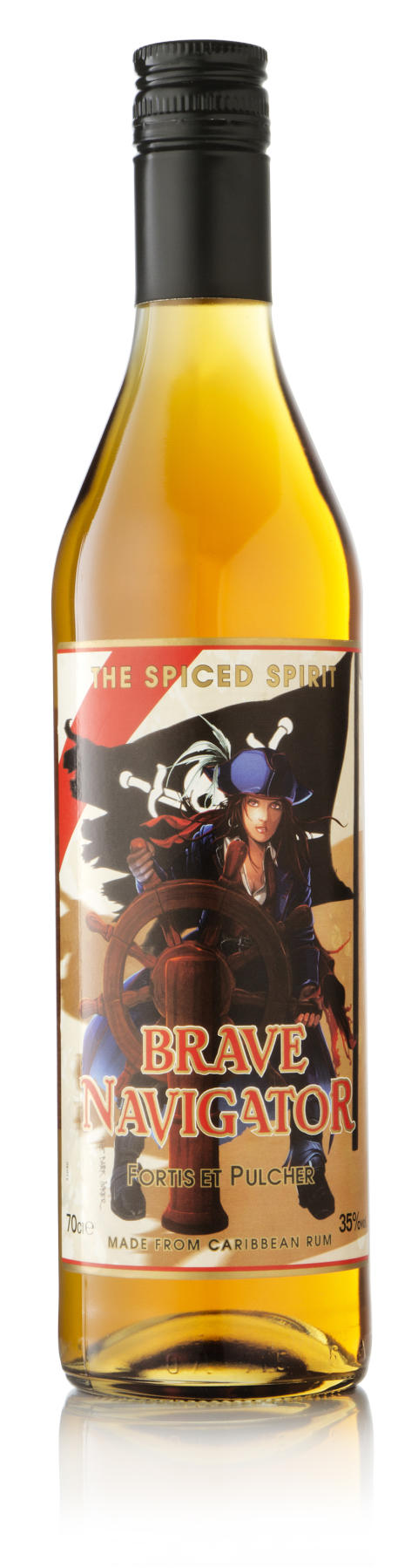 Ny spiced rum - Brave Navigator