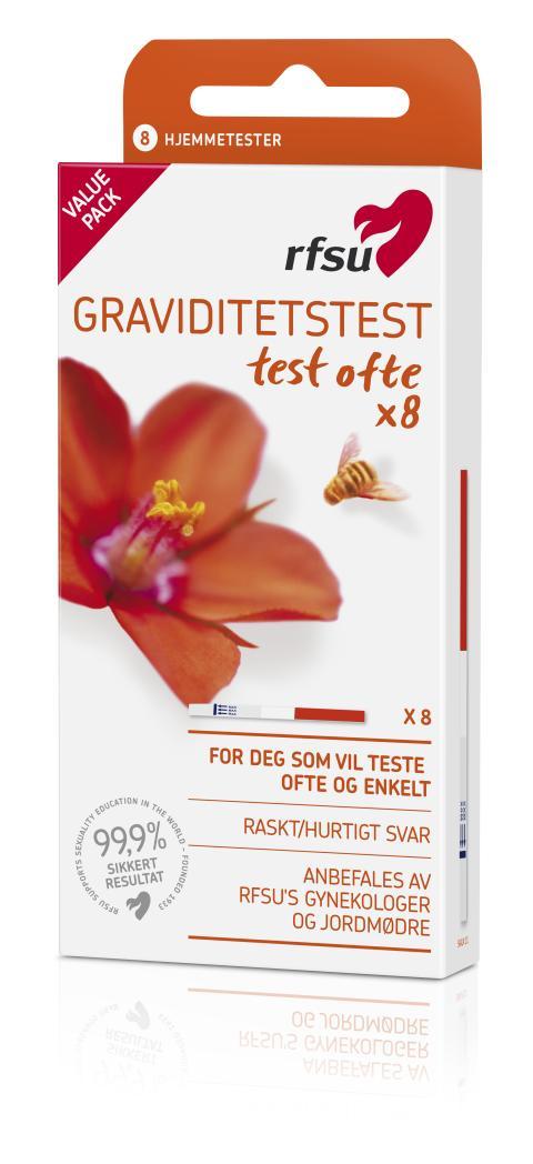 RFSU Graviditetstest test ofte