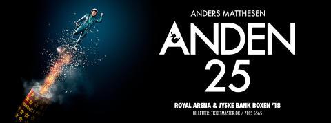 Andens jubilæumsshow  runder 40.000 billetter