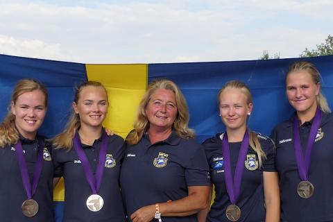 EM-brons till svensk dressyr