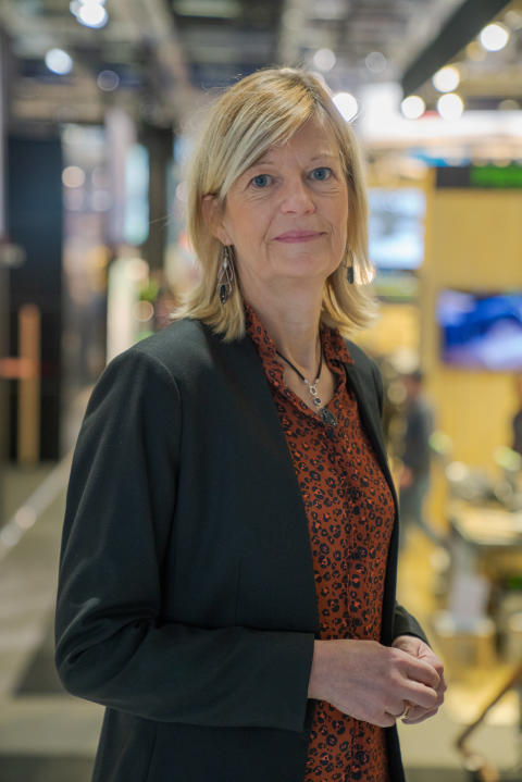 Annika Linderoth, Project Manager Smart City Stockholm. Photo: Jonas Sveningsson.