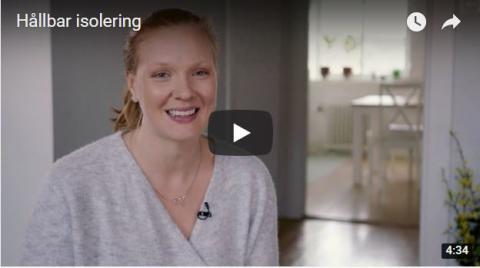 Swedisol medverkar i en film om hur isolering kan bli värdehöjande