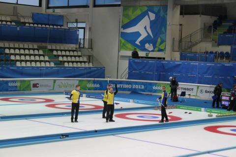 Sverige tog guld i curling i Universiaden