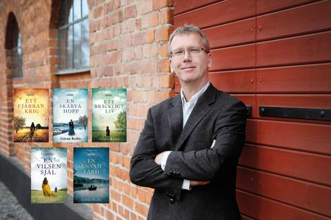 Göran Redin avslutar sitt  hyllade romanepos om  svensk stormaktstid