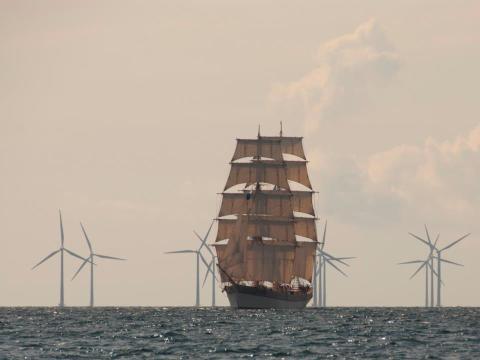 Briggen Tre Kronor och Initiativet Hållbara Hav till Karlskrona