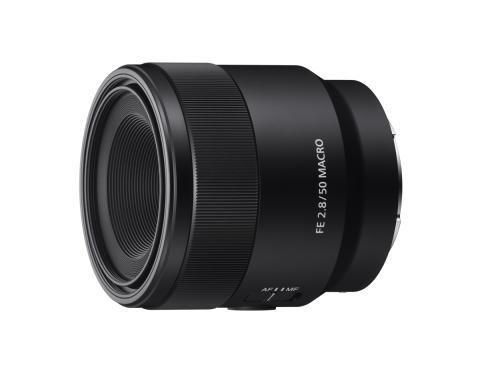 A Sony bemutatta az új 50mm F2.8 full frame makró objektívet  Egy pehelykönnyű és kompakt 50mm-es prímobjektív, 1:1 makró képességgel