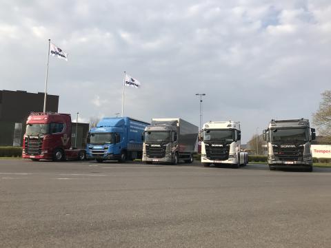Et udvalg fra Scania karavane 2019