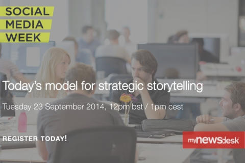 #SMW14 Online Event: Rise of brand newsroom