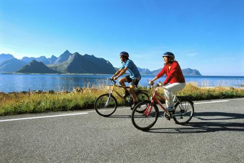 La Norvegia in bici