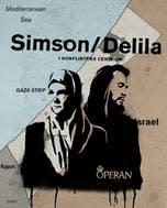 Simson och Delila – i konfliktens centrum