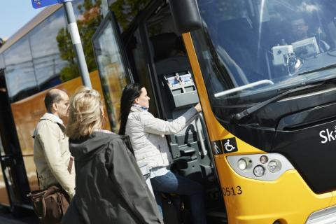 Snabbare bussresor till Helsingborg med linje 230