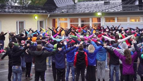 Gerestaskolan i Härnösand kan vinna pris på Idrottsgalan