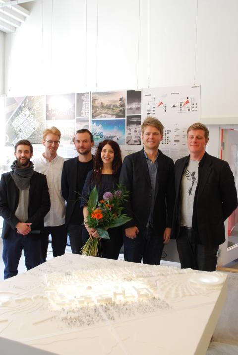 Team COBE, presskonferens om Lund Science Village