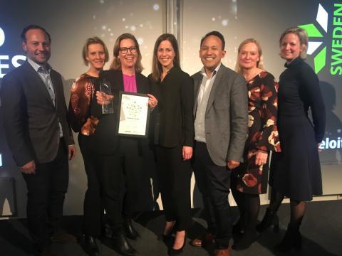 Hemfrid utses till ett av Sveriges Best Managed Companies 2019 av Deloitte