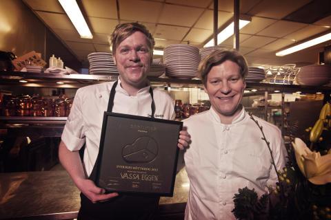 Pontus Gustafsson och Christian Olsson på Vassa Eggen