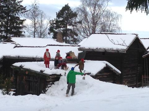 Dansk storfilm spelas in på Jamtli i Östersund