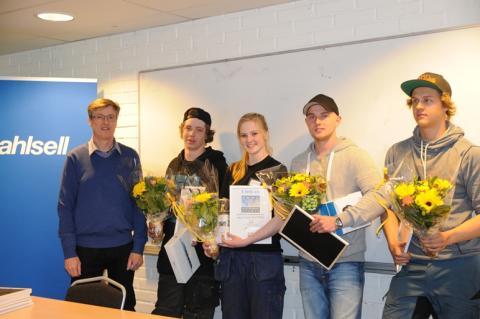Victor Backman vinnare i Skol-SM 2014