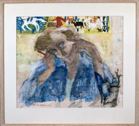 Över 5 000 besökare såg Astrid Lindgrens tavlor på Näs.