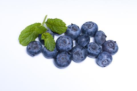 Självplock av blåbär finns bl a på Blåbärsgården utanför Hjo.
