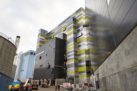 Förnyelsen Block 6 - byggbilder hösten 2013