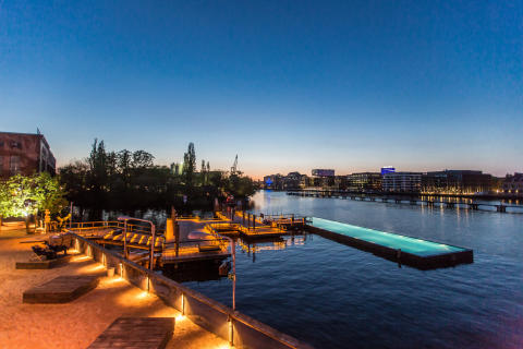 Berlin fra vannet