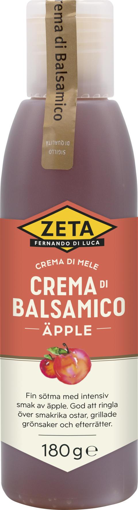 Spännande smaksättare – Zeta Crema di Balsamico Äpple