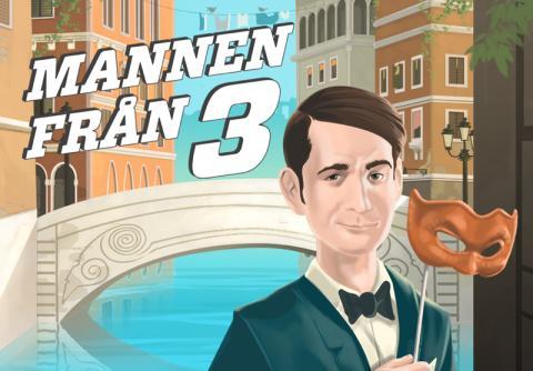 """Premiär för """"Mannen från 3"""" som mobilspel"""