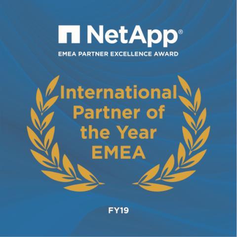 "Fujitsu Wins NetApp EMEA Partner Excellence Award for ""International Partner of the Year"""